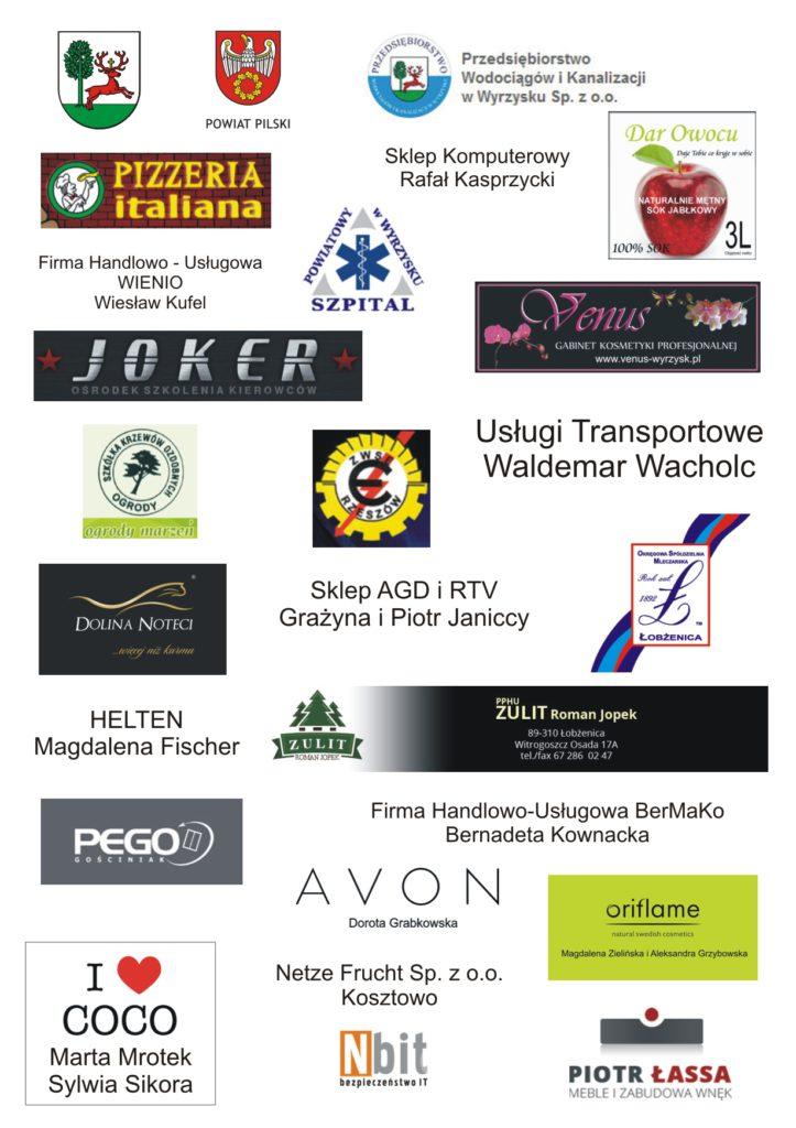 logotypy sponsorów