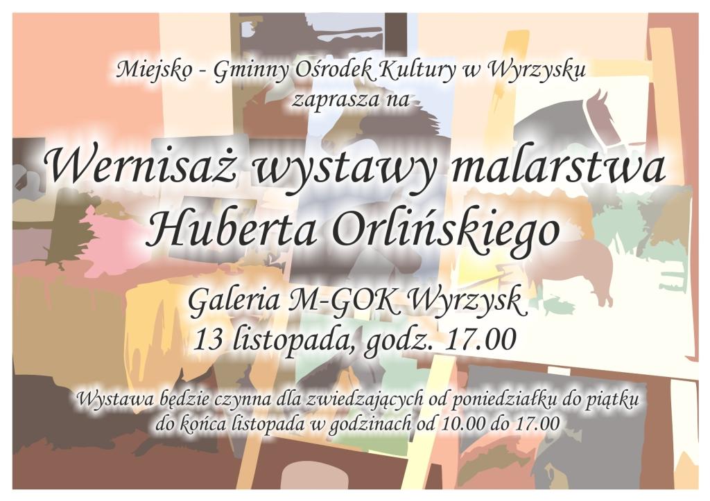 plakat Orliński