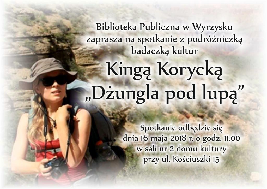 Kinga Korycka plakat
